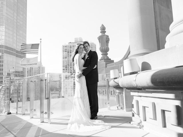 Grant and Amanda's Wedding in Chicago, Illinois 12