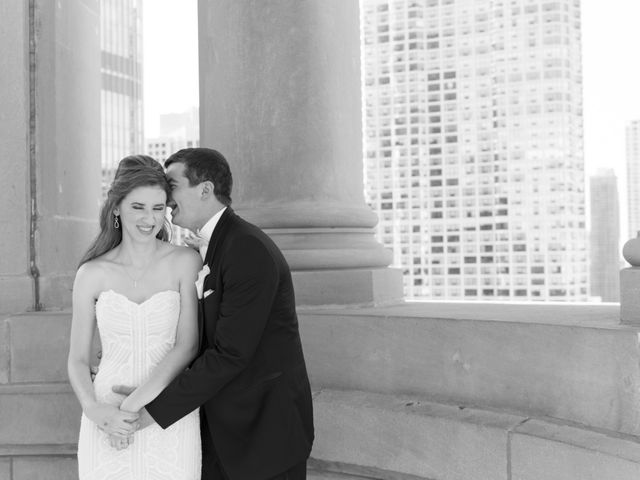 Grant and Amanda's Wedding in Chicago, Illinois 17
