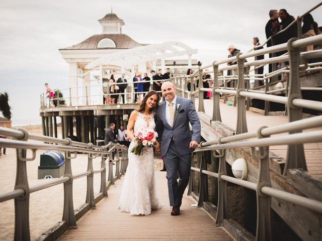 The wedding of Leigh and Nick