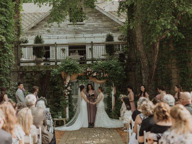 Angie and Tonya's Wedding in Benton Harbor, Michigan 7