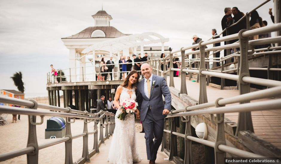 Nick and Leigh's Wedding in Long Branch, New Jersey