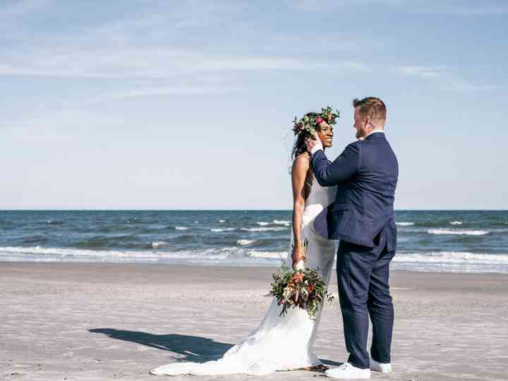 The wedding of Ashunti and Ryan