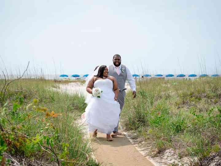The wedding of Rashad and Shanteria