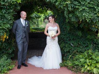 The wedding of Devon and James