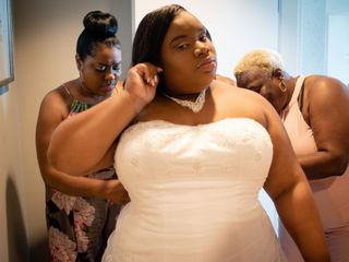 The wedding of Rashad and Shanteria 2