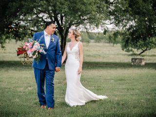 The wedding of Kristin and Juan