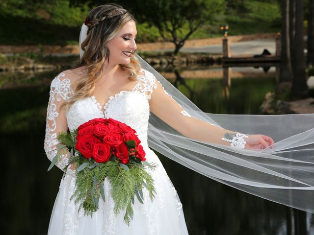 Hubert and Stephanie's Wedding in Fallbrook, California 8