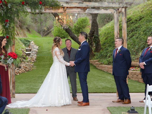 Hubert and Stephanie's Wedding in Fallbrook, California 19