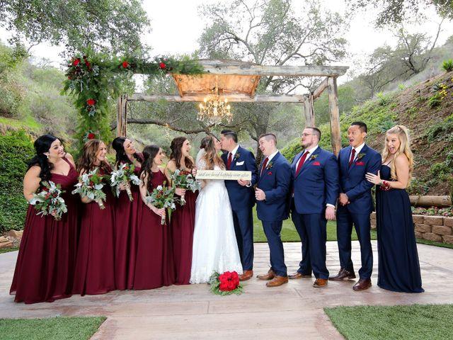 Hubert and Stephanie's Wedding in Fallbrook, California 32