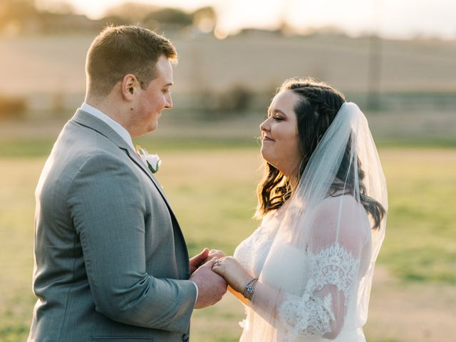 Jake and Becca's Wedding in Caldwell, Texas 16