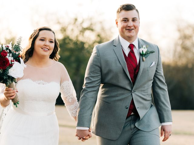 The wedding of Becca and Jake