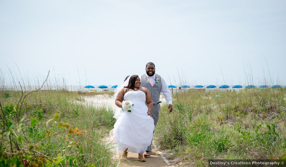 Shanteria and Rashad's Wedding in Hilton Head Island, South Carolina