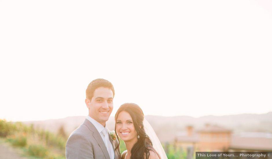 Alicia and Justin's Wedding in Napa, California