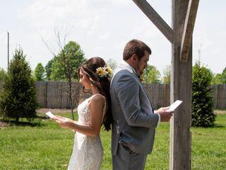 The wedding of Ericka and Cody Hubble 1