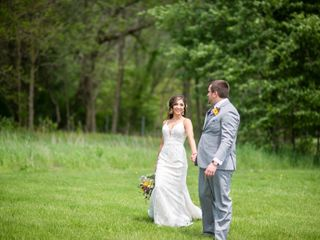 The wedding of Ericka and Cody Hubble