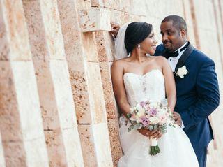 The wedding of Christina and James