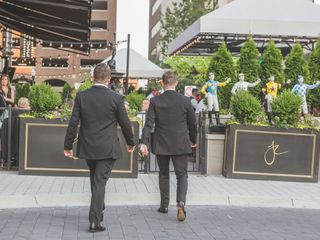 The wedding of Justin and Bryant