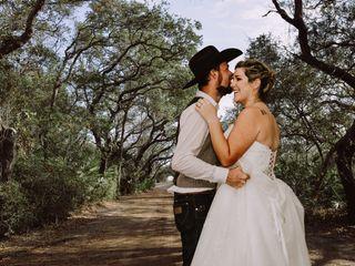 The wedding of Krystal and David