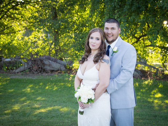 The wedding of Amy and Ricky