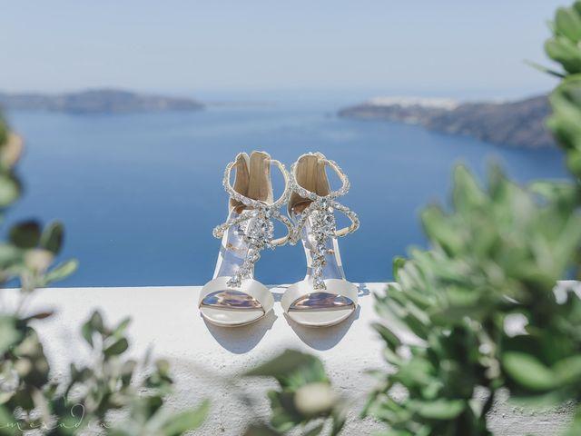 Russell and Katarina's Wedding in Santorini, Greece 1