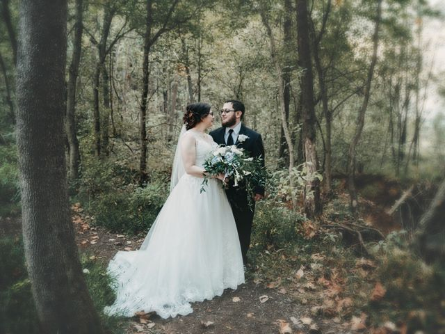 The wedding of Adriene and Derrik