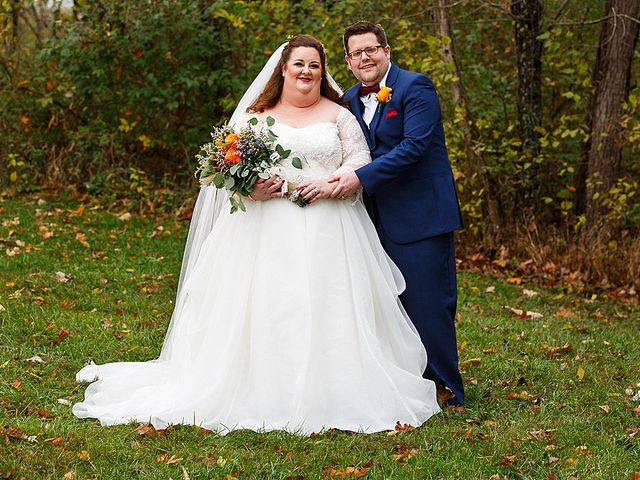 The wedding of Melissa and Sean