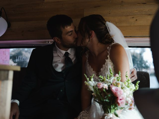 The wedding of Sammi and Kevin