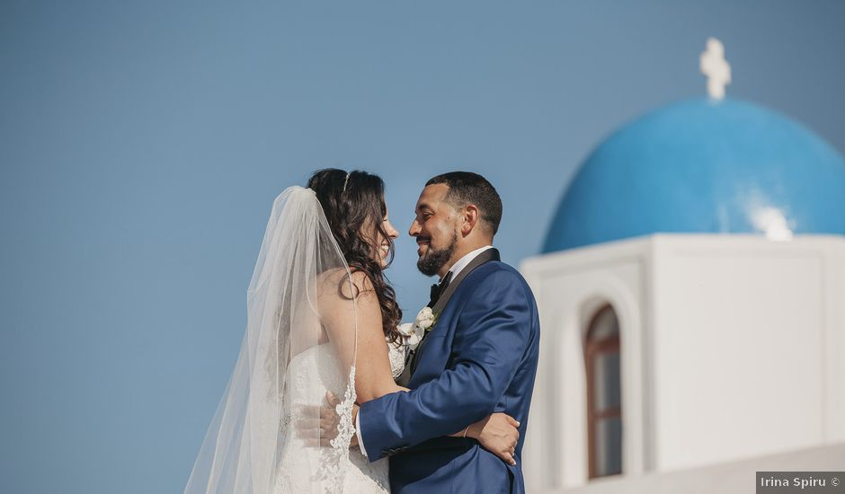 Russell and Katarina's Wedding in Santorini, Greece