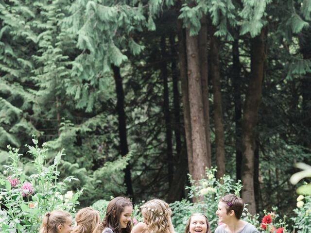 Jessica and Logan's Wedding in Bellingham, Washington 7