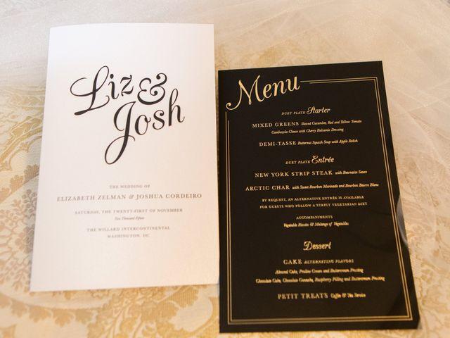 Elizabeth and Josh's Wedding in Washington, District of Columbia 1
