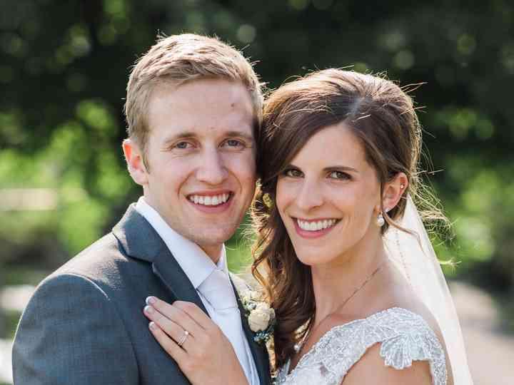 The wedding of David and Megan
