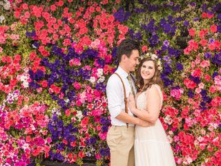 The wedding of Kerena and Adam
