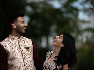 The wedding of Alisha and Raj