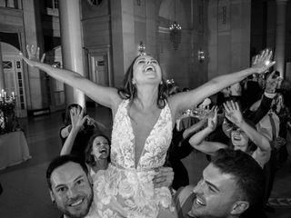 The wedding of Lauren and Michael 2