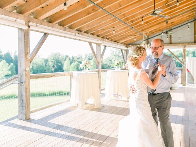 Kyle and Carolyn's Wedding in Berrien Springs, Michigan 7