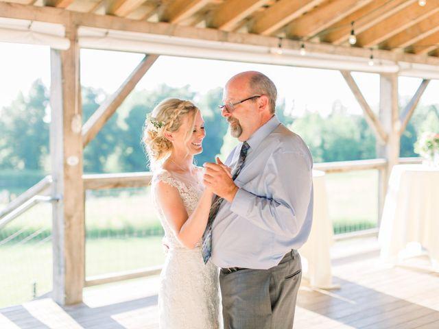 Kyle and Carolyn's Wedding in Berrien Springs, Michigan 8