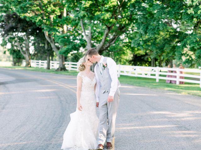 Kyle and Carolyn's Wedding in Berrien Springs, Michigan 18