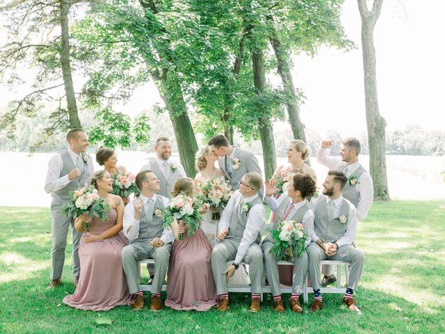 Kyle and Carolyn's Wedding in Berrien Springs, Michigan 113