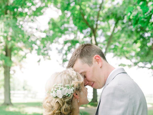 Kyle and Carolyn's Wedding in Berrien Springs, Michigan 123