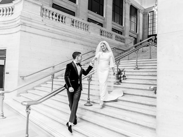 Matthew and Sarah's Wedding in Chicago, Illinois 54