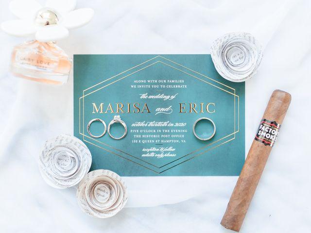 Eric and Marisa's Wedding in Hampton, Virginia 93