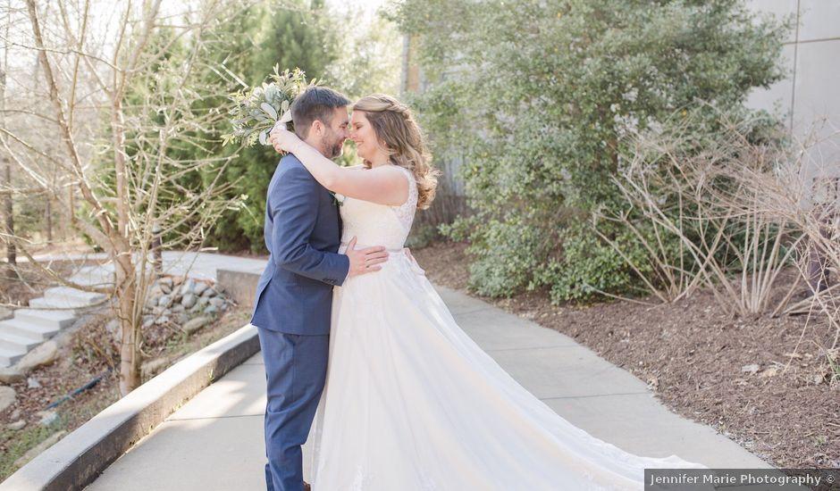 Matt and Monica's Wedding in Buford, Georgia
