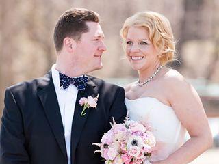 The wedding of Matt and Leslie