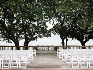 Pam and Theo's Wedding in Southport, North Carolina 8