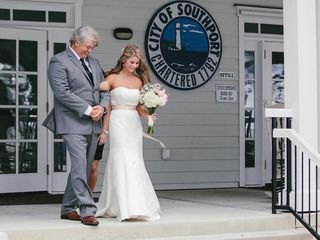Pam and Theo's Wedding in Southport, North Carolina 9