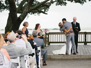Pam and Theo's Wedding in Southport, North Carolina 11