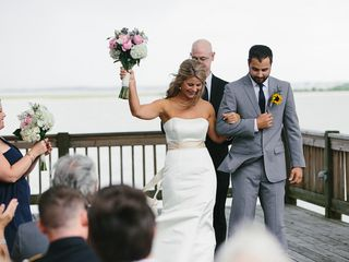 Pam and Theo's Wedding in Southport, North Carolina 12