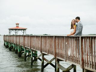 Pam and Theo's Wedding in Southport, North Carolina 15