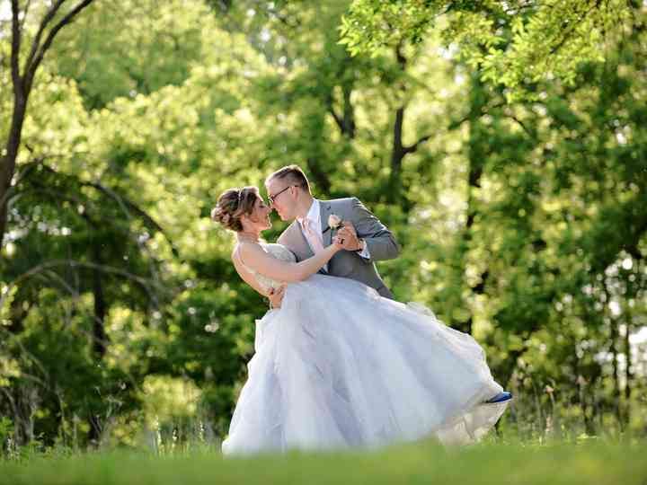 The wedding of Victoria and Andrew