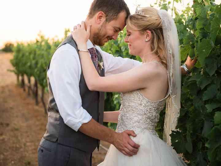 The wedding of Katelyn and Robert